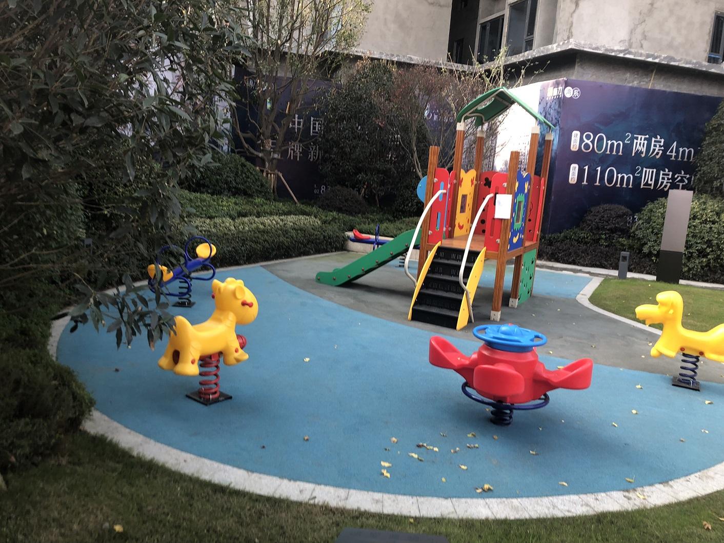新力翡翠湾售楼处儿童游乐场